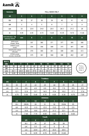 Kamik Size Chart Saint Bernard