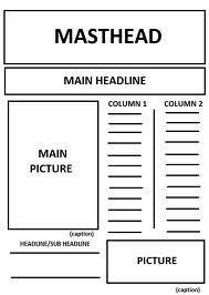 Newspaper Template App Newspaper App Template Mla Format Google Docs App Newspaper Outline