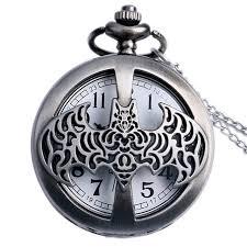 aliexpress com buy batman pocket watch necklace men or women batman pocket watch necklace men or women necklace vintage pocket watch necklace silver