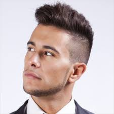 Hairstyles For Men To The Side One Side Hairstyles For Men Ideas Shaved Hair Styles For Men Male