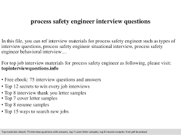 Download Process Safety Engineer Sample Resume Ajrhinestonejewelry Com