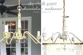 re old chandelier transform an outdated brass chandelier with chalk paint cleaning brass chandelier