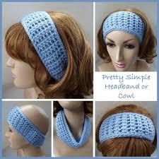 Easy Crochet Headband Pattern Free