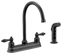 Designers Impressions Oil Rubbed Bronze Kitchen Faucet With