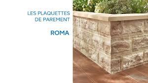 Plaquette De Parement Roma 677316 Castorama Youtube