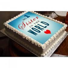 Asansol Online Rakhi Cake Delivery Rakhi Photo Cake Sister