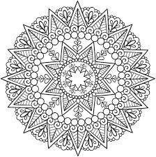 Small Picture Challenging Mandala Coloring Pages Coloring Pages