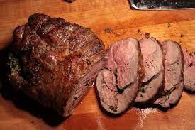 boneless roasted leg of lamb recipe