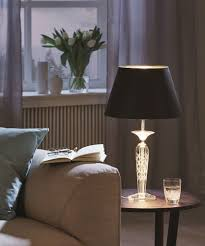 Pasiano 60w Crystal Table Lamp E27 Eglo Lighting 94081 94082