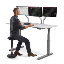 stand and sit computer desk