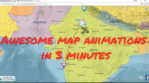 Animated Travel Map How To Create Animated Maps For Free Using Free Online Tool In Just 3 Minutes
