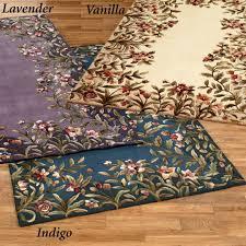 area rugs shaped like flowers jaipur transitional fl pattern bluemulti wool rug hac05 runner purple flower