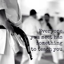Martial Arts Quotes Inspiration Everyone You Meet Has Something To Teach You Jits Pinterest