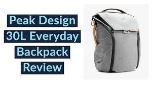 Peak Design 30l Peak Design 30l Everyday Backpack Review