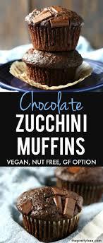 Garden Light Muffins Vegan Chocolate Zucchini Muffins Recipe Allergy