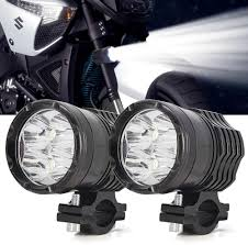 Motorbike Fog Lights Motorcycle Spot Lights Led Headlights 40w Led Work Lights Motorbike Auxiliary Driving Fog Lights 12v 24v 3600lm For Motorbike Truck Off Road 4x4 Atv