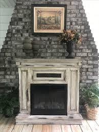 best 25 distressed fireplace ideas on distressed mantle brick fireplaces and fireplace in kitchen