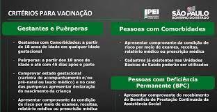 SP vai vacinar grávidas e mães com comorbidades dia 11