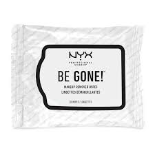 nyx professional makeup be gone makeup remover wipes 20pcs