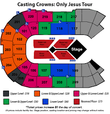 Mccaw Hall Seattle Seating Chart Casting Crowns Angel Of The Winds Arena