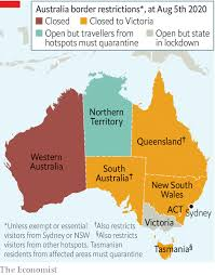 Victoria records 12 cases overnight. Borderline Cases Australia S Internal Travel Restrictions Are Tested In Court Asia The Economist