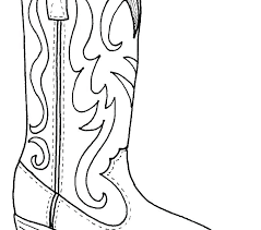 Cowboy Coloring Pages Free Collection Of Cowboy Boots Coloring Pages