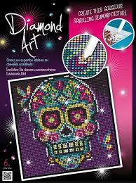 Design A Sugar Skull Online Ksg Diamond Art Kit Sugar Skull Design