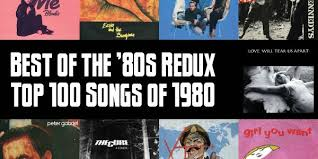 Pop Charts 1980 Top 100 Songs Of 1980 Slicing Up Eyeballs Best Of The 80s