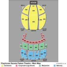Playhouse Square Cleveland Seating Chart 19 Genuine Cleveland Playhouse Palace Theater Seating Chart