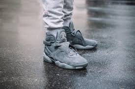 jordan 8 cool grey. cool grey. we\u0027ve seen this finish on classic silhouettes such as the air jordan 3, 4 and 11. not brand brings 8 grey
