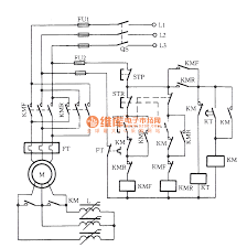 frequency sensitive resistor starting and wound rotor type induction motor automatic reversing circuit