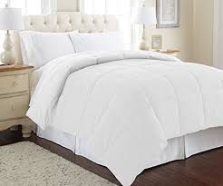Amazon.com: Amrapur Overseas | Goose Down Alternative Microfiber ... & Amrapur Overseas | Goose Down Alternative Microfiber Quilted Reversible  Comforter / Duvet Insert - Ultra Soft Adamdwight.com