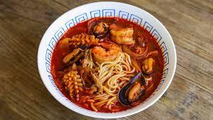 Jjamppong Korean Seafood Noodle Soup ...
