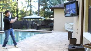 the tv shield weatherproof outdoor tv enclosures durability test