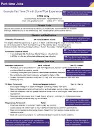 Cv For Part Time Job Part Time Cv Example By Carley Cummings Issuu