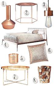 furniture for small spaces lighting decor mag mod small rose gold