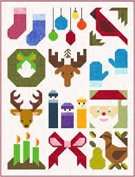 Sew Fresh Quilts: Have A Jolly Little Christmas & 12 block Sampler quilt Adamdwight.com