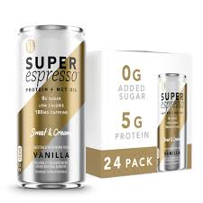 Super coffee™ protein + mct oil. Kitu Super Espresso Sugarfree Keto Coffee Cans 0g Sugar 5g Protein 35 Calories Vanilla 6 Fl Oz 24 Pack Iced Coffee Canned Coffee From The Super Coffee Family Amazon Com Grocery Gourmet Food