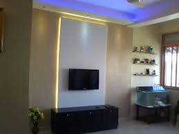 Image Backlit Panel Modern Lcd Wall Unit With Back Gharexpert Modern Lcd Wall Unit With Back Lighting Gharexpert