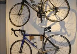 freestanding vertical bike rack bicycle rack in gorgeous wood and steel bo diy home