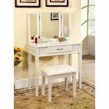 bedroom vanity sets white. Bedroom Vanity White Elegant Set In Silver 580432sil01u Sets A