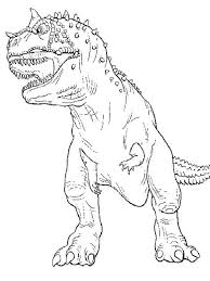 Small Picture The Legendary T Rex Coloring Page Color Luna