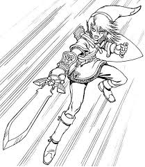 Legend Of Zelda Coloring Pages Luxury Link Coloring Pages Beautiful