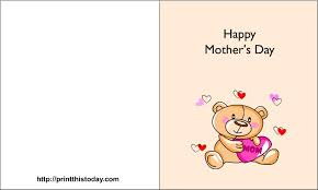 Print A Mother S Day Card Online Free Online Printable Mothers Day Cards Printable Happy Mothers Day