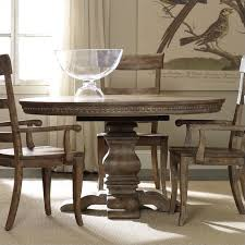 furniture sorella round pedestal dining table with leaf