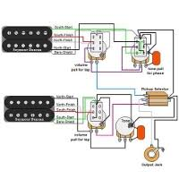 guitar wiring diagrams 2 humbuckers 3 way switch 1 volume 1 tone custom guitar bass wiring diagram service