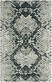 safavieh nantucket rug round grey black blue chevron