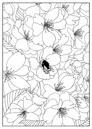 Small Picture Free coloring page coloring adult cherry tree by mizu Cherry tree