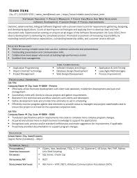 Objective In Resume For Software Engineer Object Best Career