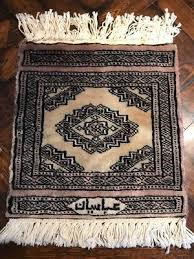 vintage hand woven ic prayer rug persian middle eastern rug carpet